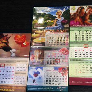 Календари, коллаж