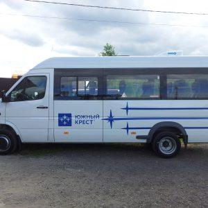 наклейка на миниавтобус
